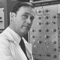 """Biochemist Donald F. Steiner, SM'56, MD'56, discovered proinsulin, the first """"pro-hormone"""" and precursor to insulin. The 1965 finding led to the synthetic production of human insulin, markedly improving therapy for diabetes sufferers, and laid the groundwork for improved understanding of how other proteins in the body are made."""