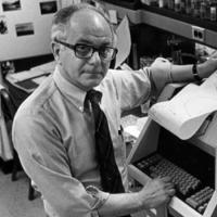 Biochemist Eugene Goldwasser
